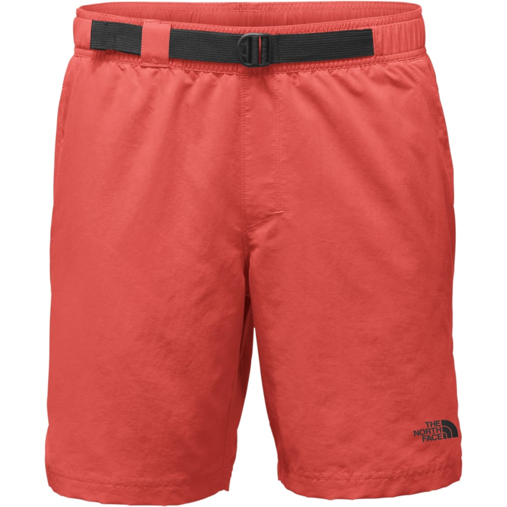 THE NORTH FACE Men's Class V Belted Trunk Shorts - PKB-SUNBAKED RED