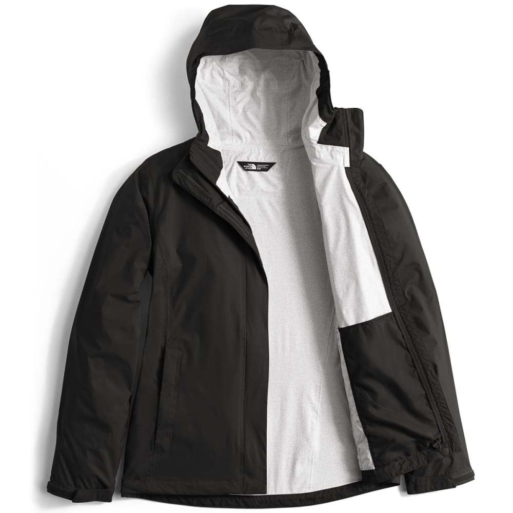 THE NORTH FACE Women's Venture 2 Jacket - JK3-TNF BLACK
