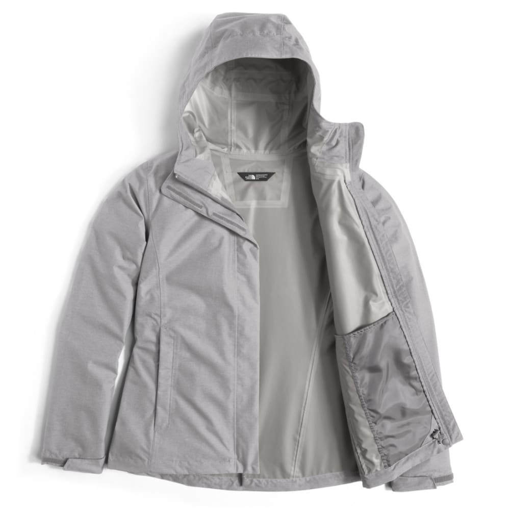 THE NORTH FACE Women's Venture 2 Jacket - WQT-TNF LIGHT GREY