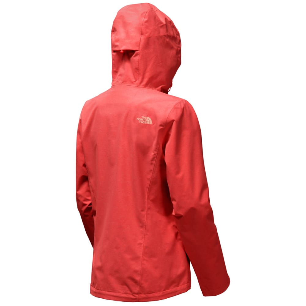 THE NORTH FACE Women's Venture 2 Jacket - QBF-CAYENNE RED HTHR