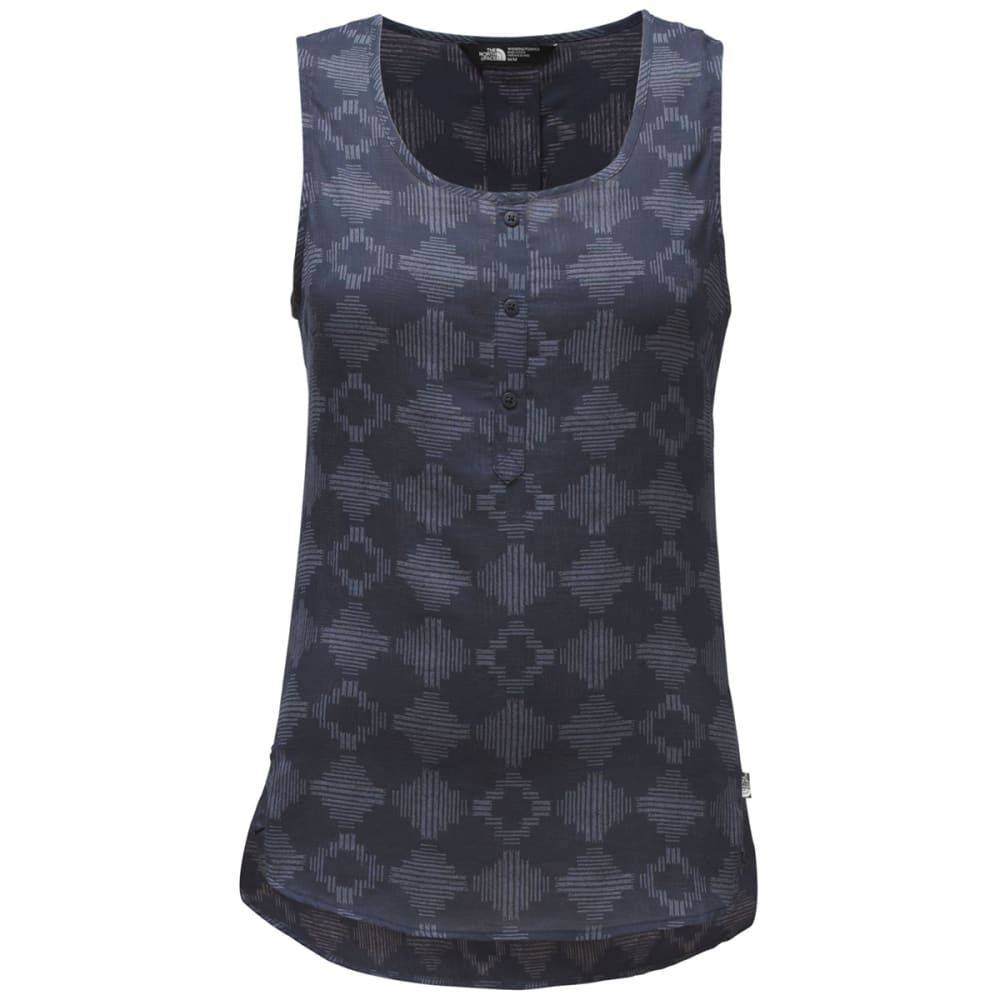 THE NORTH FACE Women's Touring Tank - QTF-COSMIC BLUE PRIN