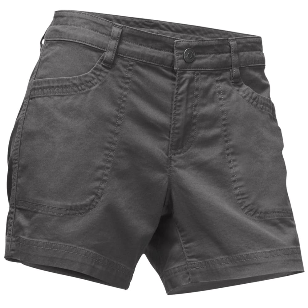 THE NORTH FACE Women's Boulder Stretch Shorts - 044-GRAPHITE GREY