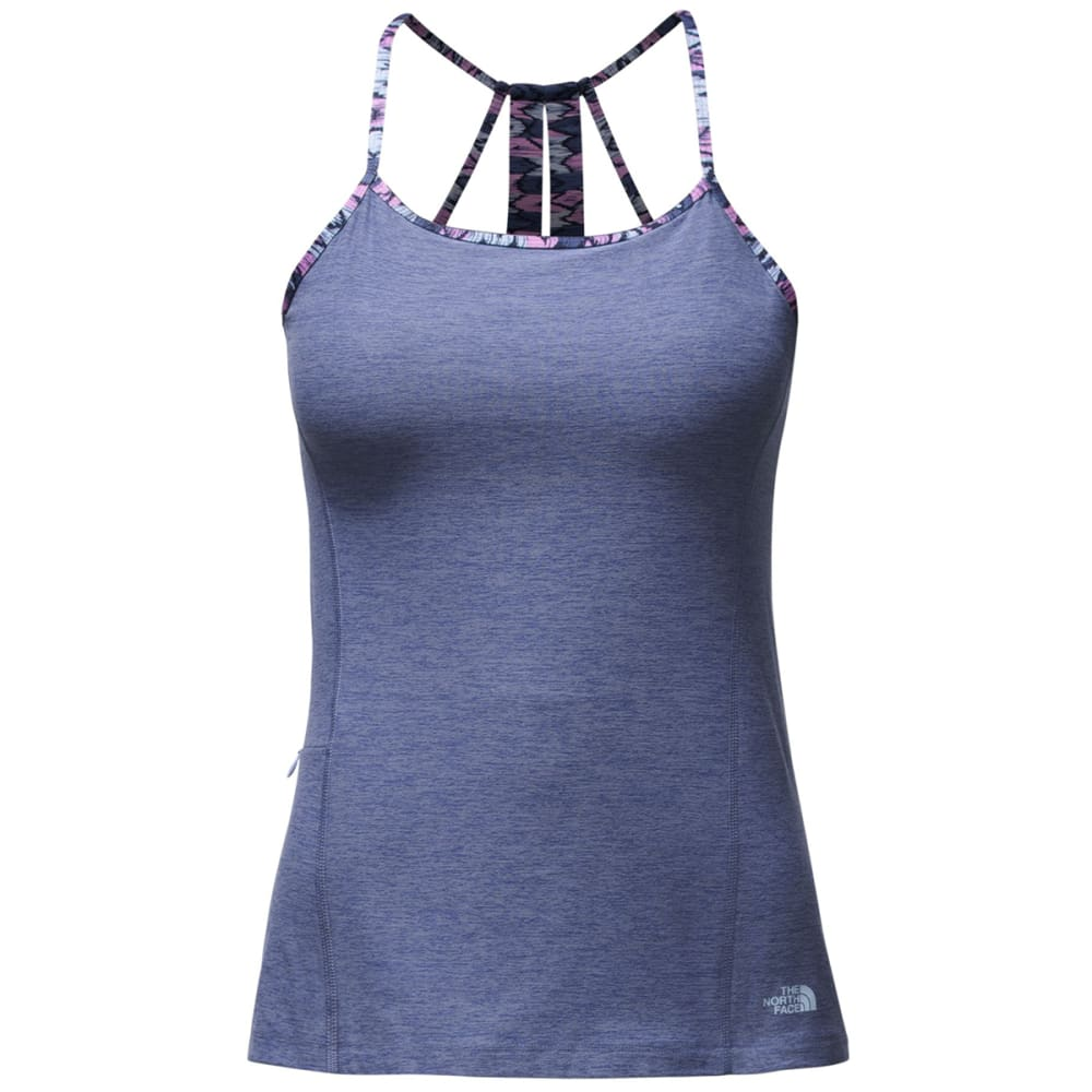 THE NORTH FACE Women's Exposure Tank - HGS-COASTAL FJORD BL
