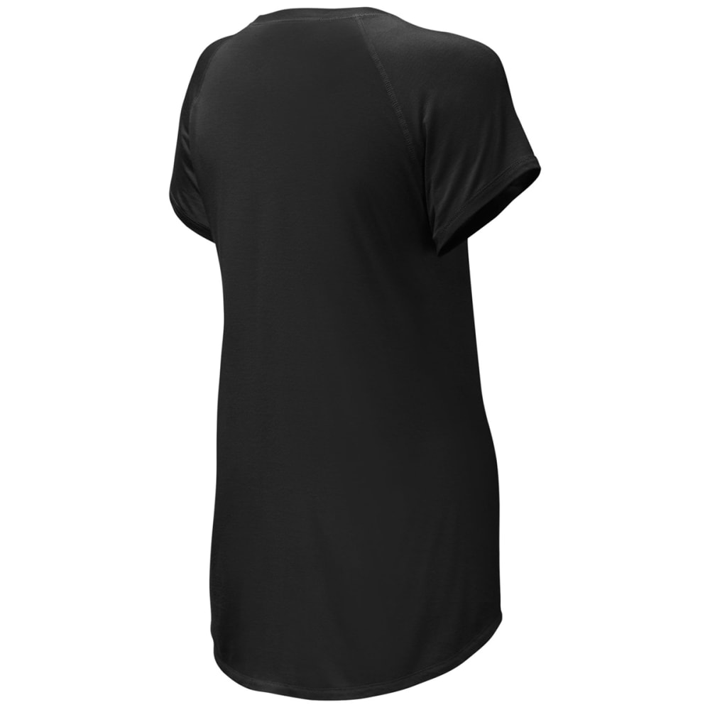 THE NORTH FACE Women's Versitas Short Sleeve Shirt - JK3-TNF BLACK