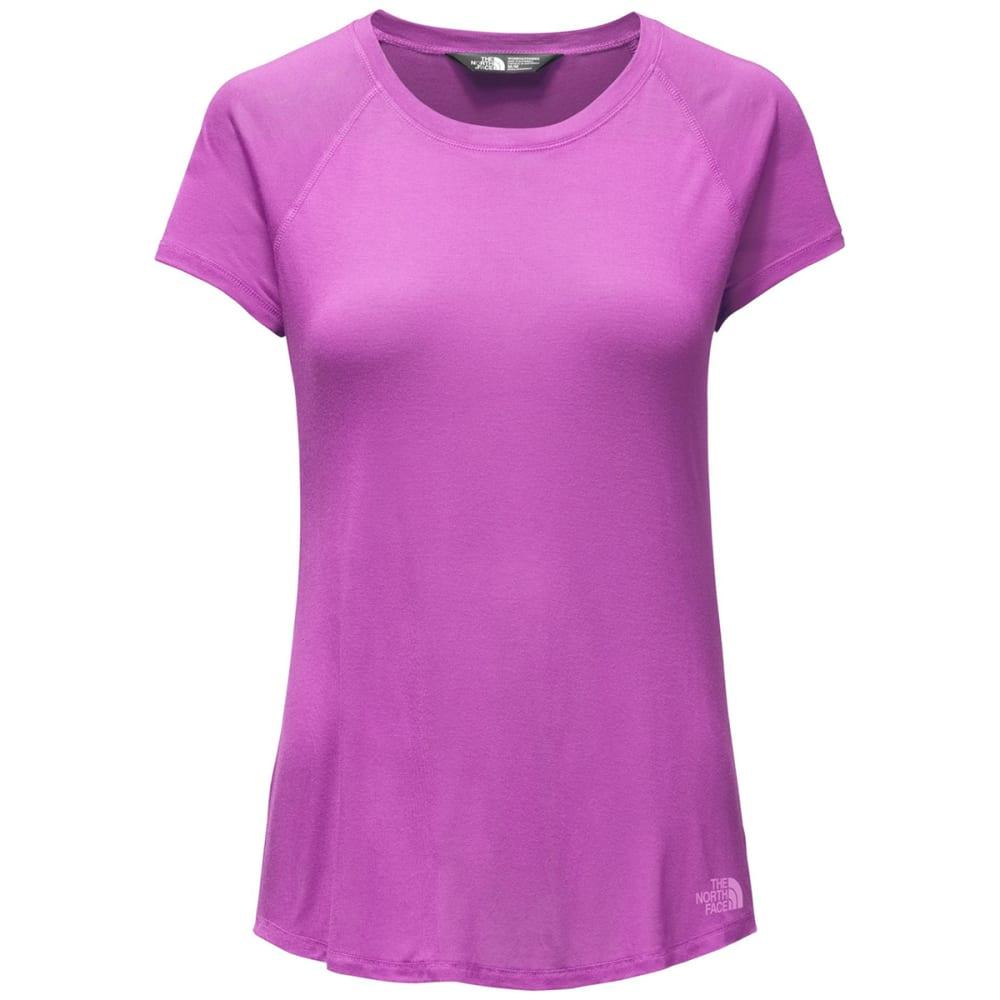 THE NORTH FACE Women's Versitas Short Sleeve Shirt - EEJ-SWEET VOILET
