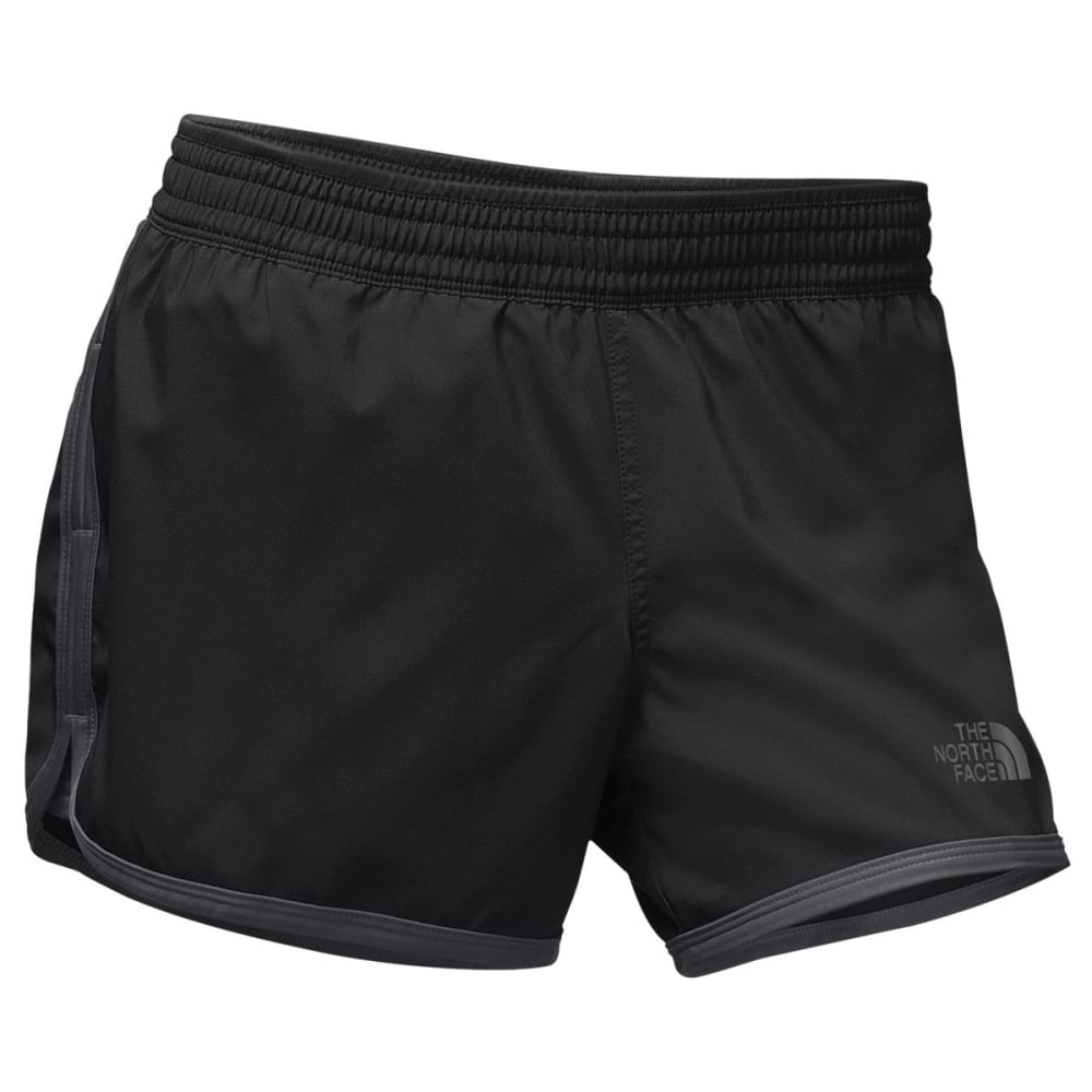 THE NORTH FACE Women's Reflex Core Shorts - KT0-TNF BLK/ASPHALT