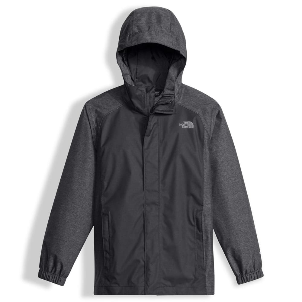 THE NORTH FACE Boys' Resolve Reflective Jacket - 044-GRAPHITE GREY