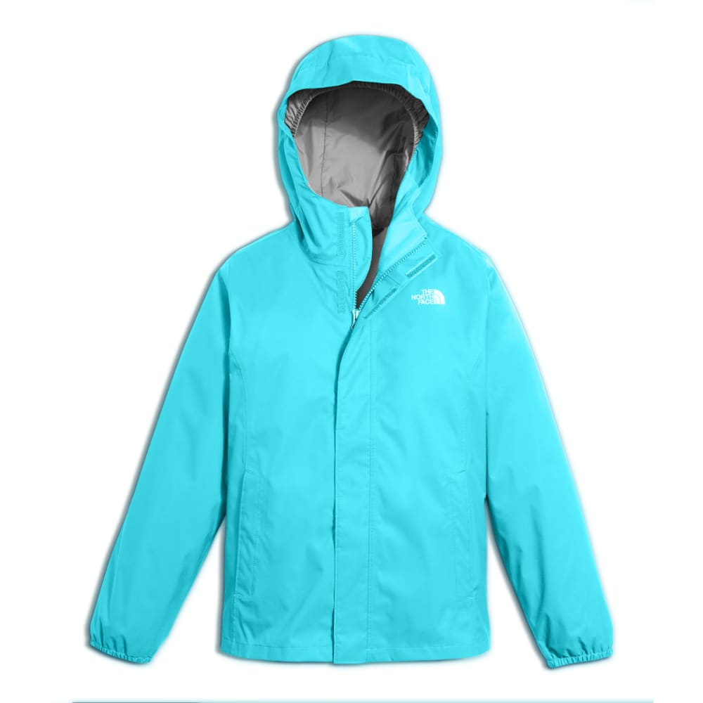 THE NORTH FACE Girls' Resolve Reflective Jacket - H1R-BLUE CURACAO
