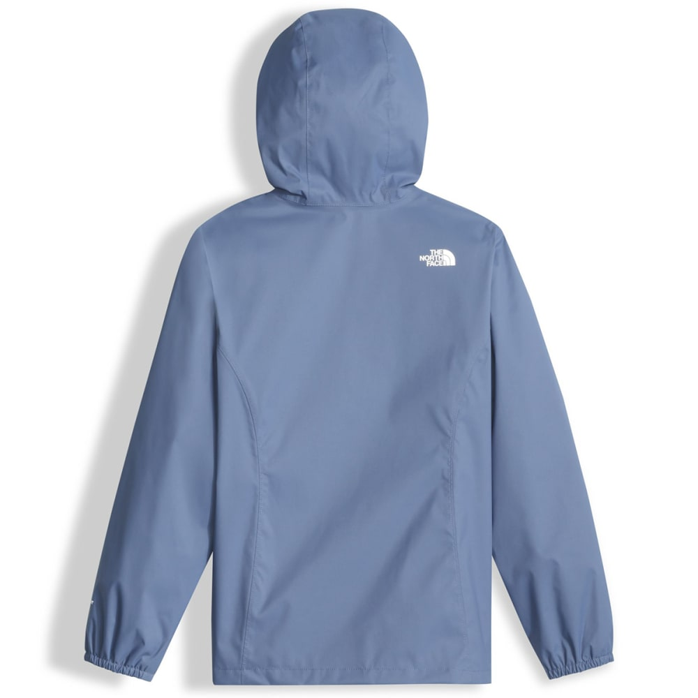 THE NORTH FACE Girls' Resolve Reflective Jacket - HCA-COASTAL FJORD BL