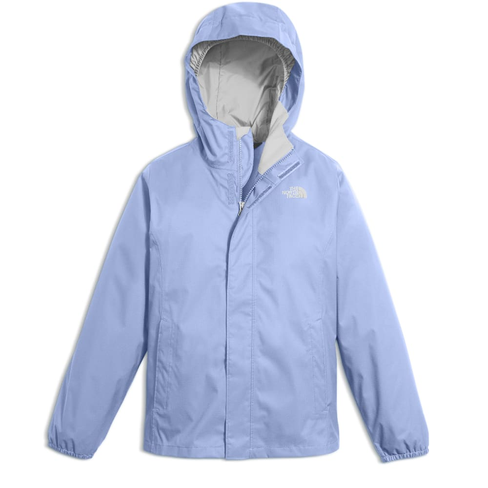 THE NORTH FACE Girls' Resolve Reflective Jacket - N3L-COLLAR BLUE