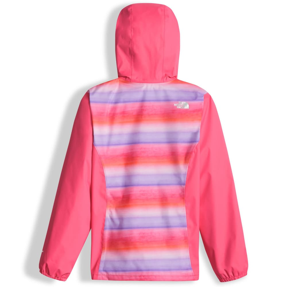 THE NORTH FACE Girls' Resolve Reflective Jacket - QUT-HONEYSUCKLE PINK