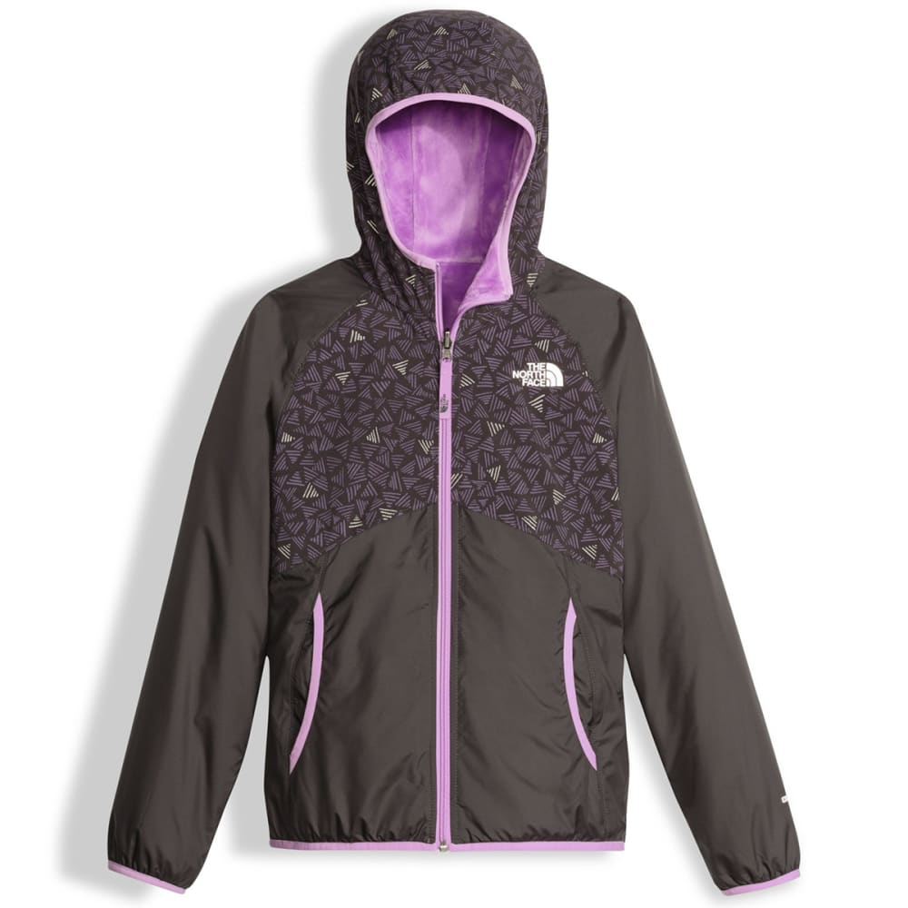 THE NORTH FACE Girls' Reversible Breezeway Wind Jacket XS