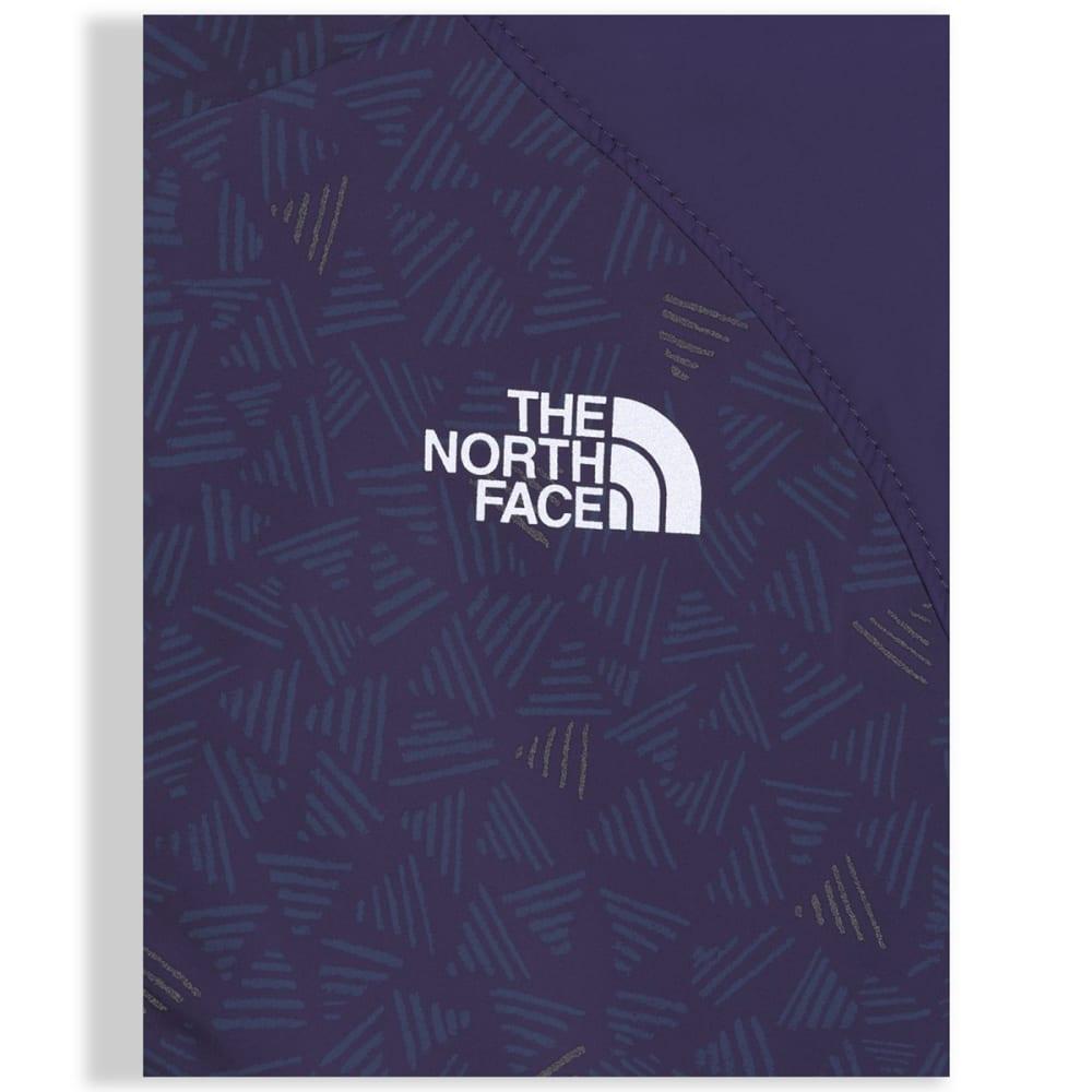 THE NORTH FACE Girls' Reversible Breezeway Wind Jacket - QUZ-PAISLEY PURPLE