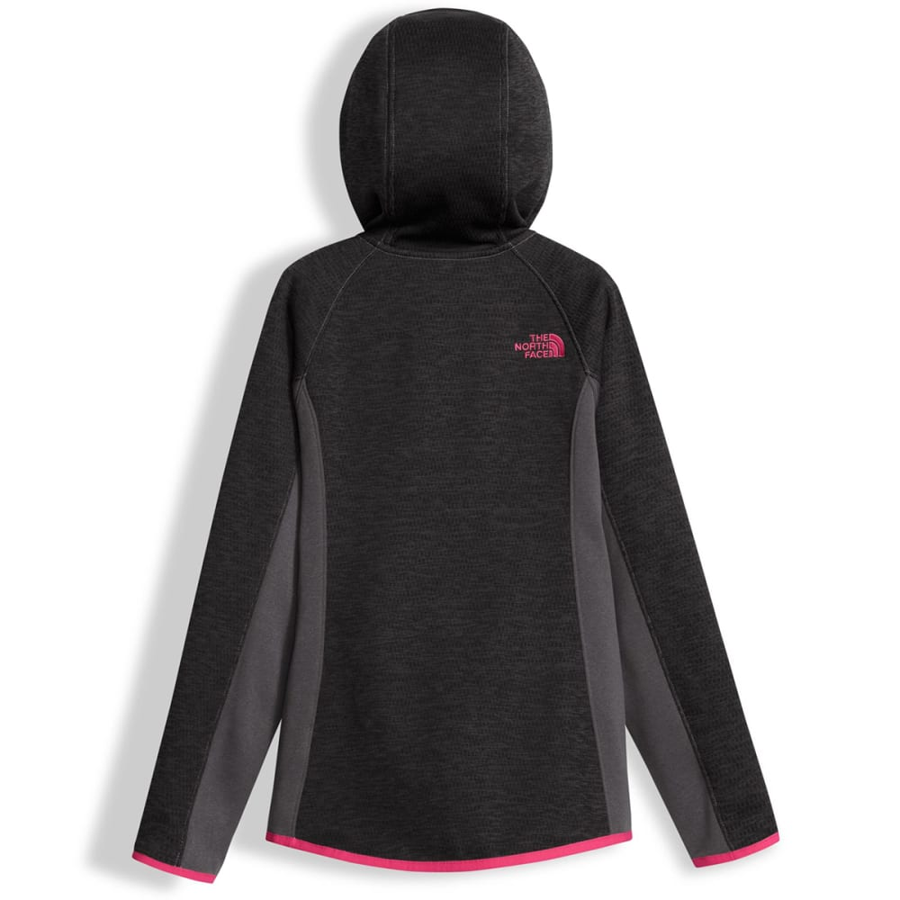 THE NORTH FACE Girls' Arcata Full-Zip Hoodie - 044-GRAPHITE GREY