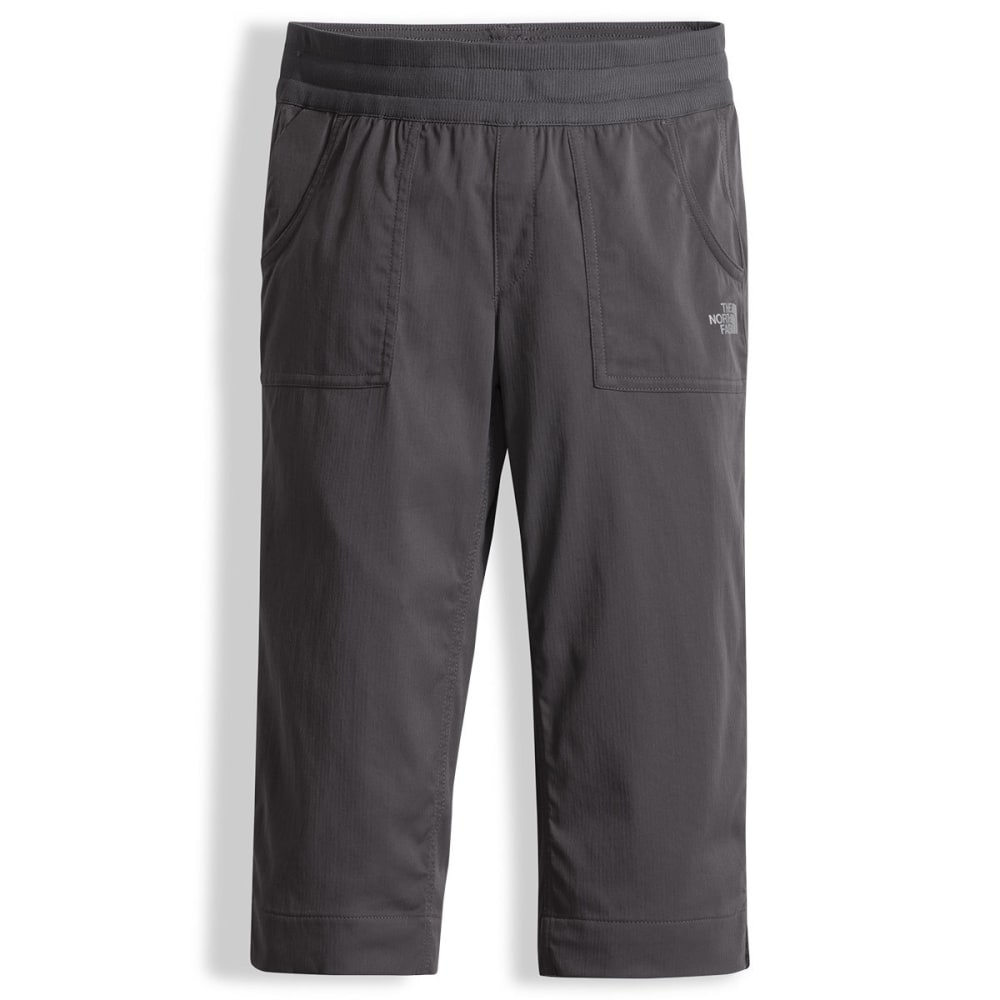THE NORTH FACE Girls' Aphrodite Capris - 044-GRAPHITE GREY