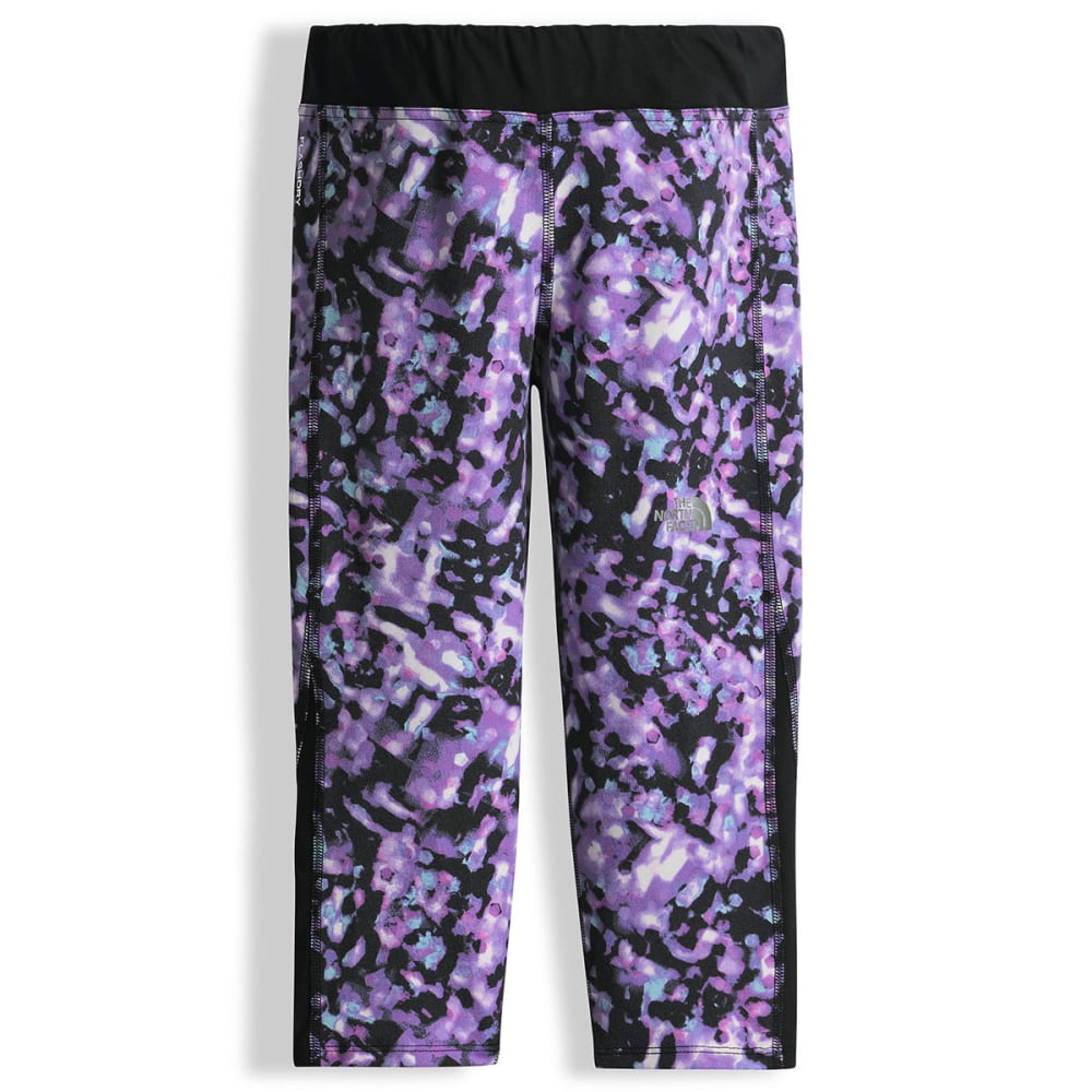 THE NORTH FACE Girls' Pulse Capri - QVM-VIOLET TULLE
