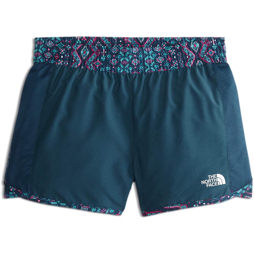 THE NORTH FACE Girls' Class V Water Shorts - 3HE-B WNG TL MEDALLN