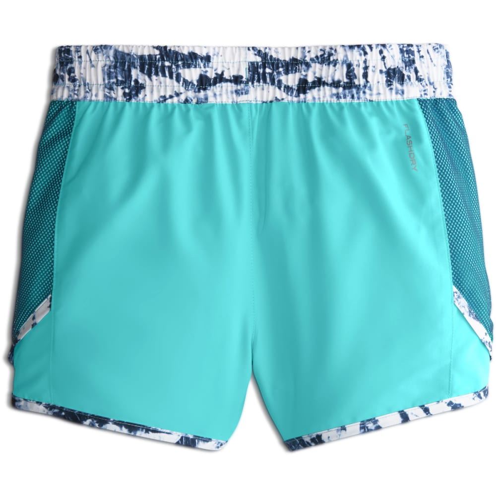 THE NORTH FACE Girls' Class V Water Shorts - 1PJ-B WNG TEAL FERN