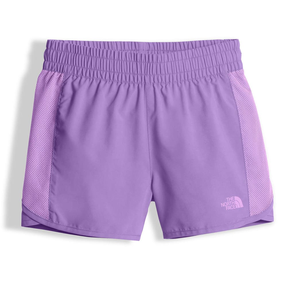 THE NORTH FACE Girls' Class V Water Shorts - NXT-PAISLEY PURPLE