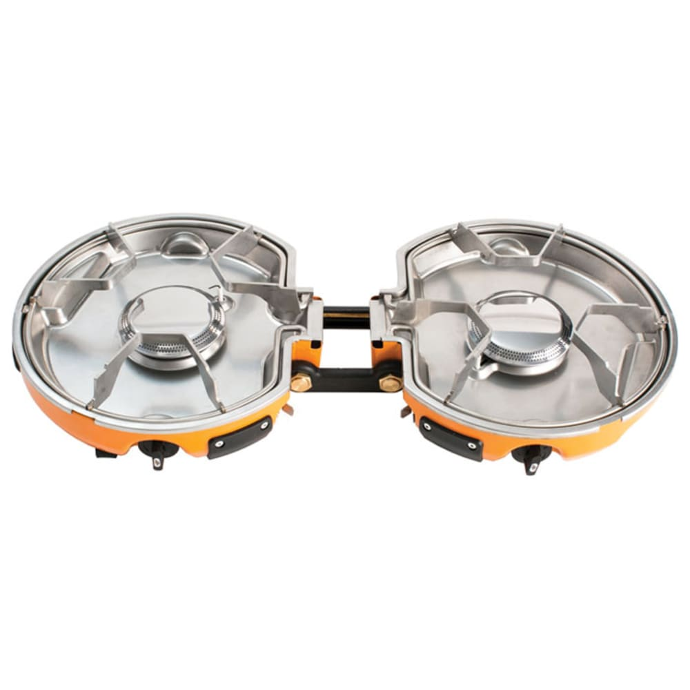 JETBOIL Genesis 2-Burner Propane Stove - GREY/ORANGE