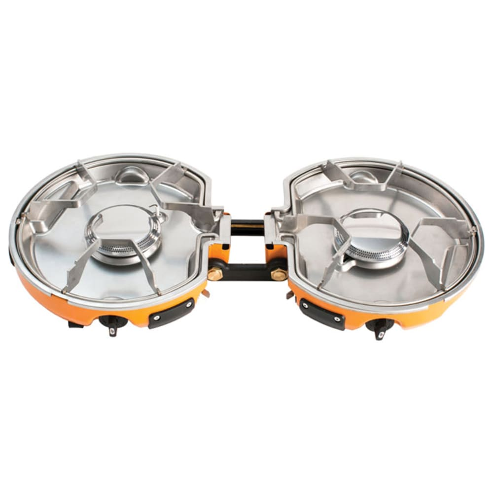 JETBOIL Genesis 2-Burner Basecamp System - GREY/ORANGE