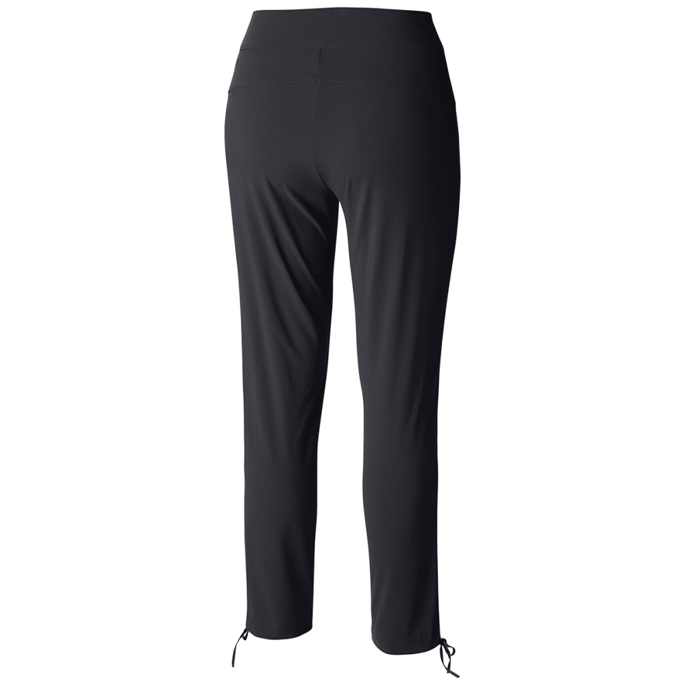 COLUMBIA Women's Anytime Casual Ankle Pants - 010-BLACK