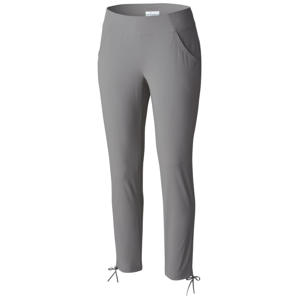 COLUMBIA Women's Anytime Casual Ankle Pants - 060-LIGHT GREY