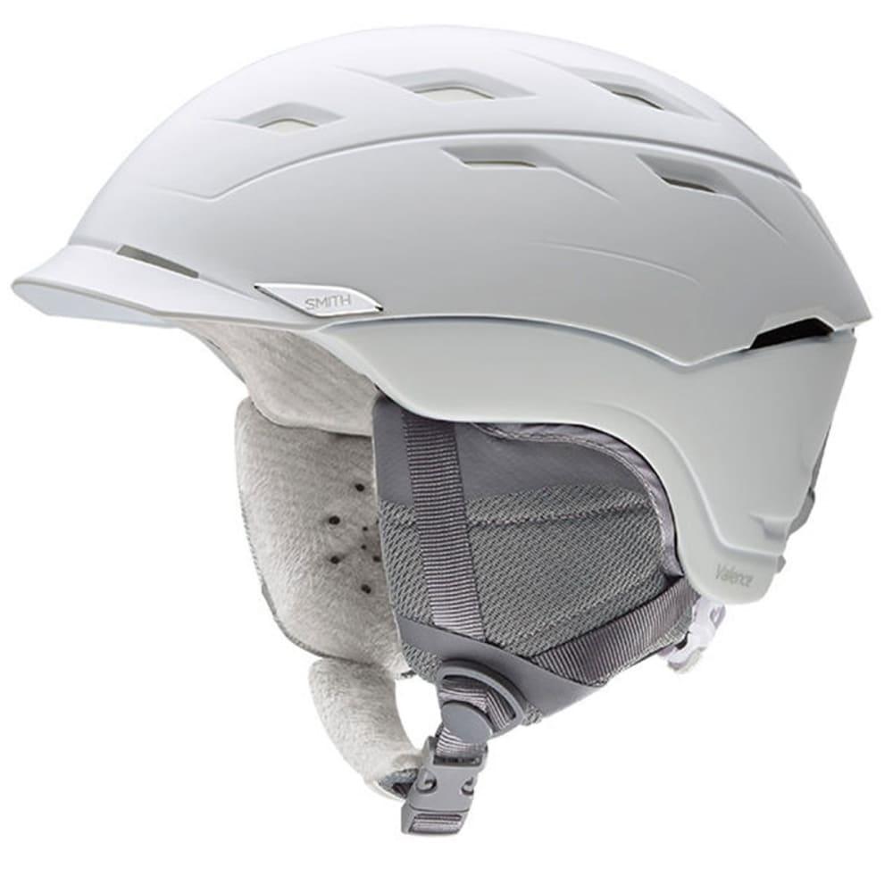 SMITH Women's Valence Snow Helmet, White - SATIN