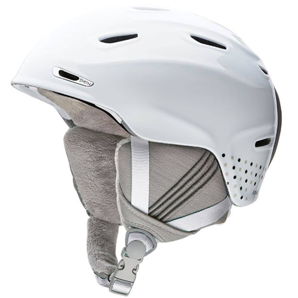 SMITH Women's Arrival Snow Helmet, White Dots - WHITE DOTS