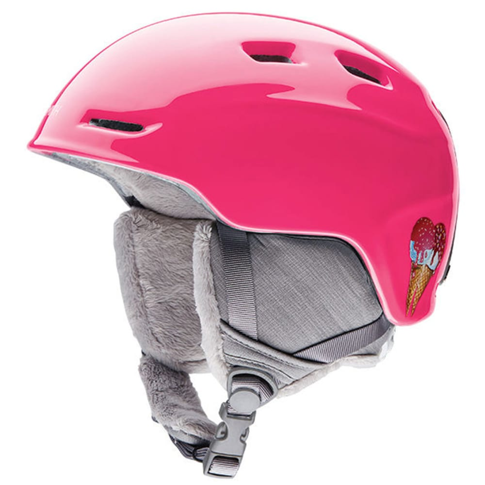 SMITH Girls' Zoom Snow Helmet, Pink - PINK