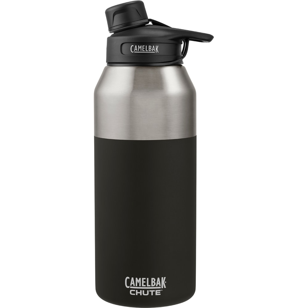 6614a74e09 CAMELBAK 1.2L Chute Stainless Insulated Water Bottle - JET BLACK 53868
