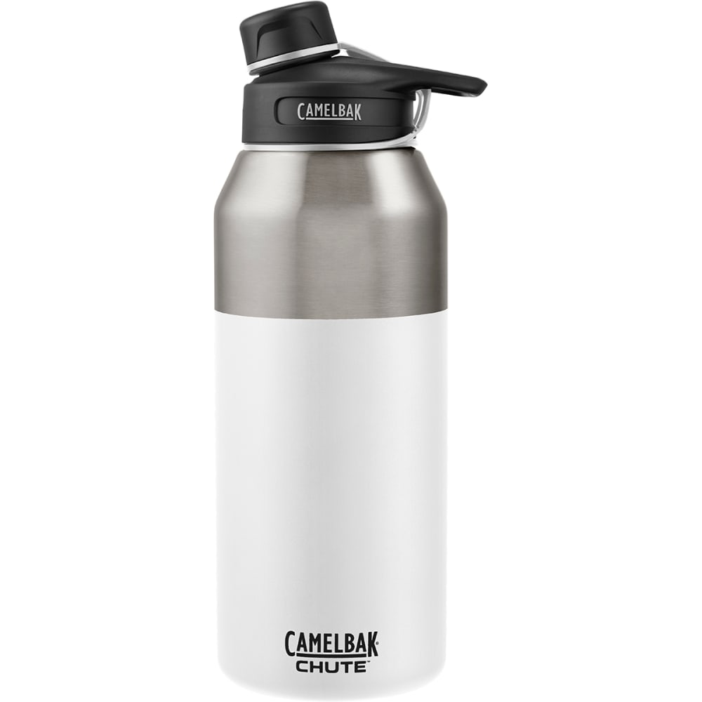 CAMELBAK 1.2L Chute Stainless Insulated Water Bottle - WHITE 1288101012