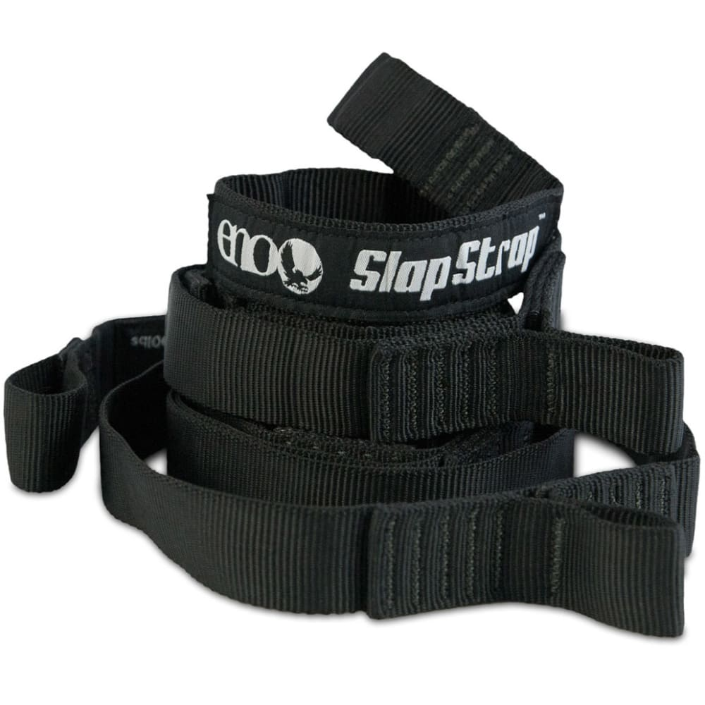 ENO Slap Strap Hammock Suspension - BLACK
