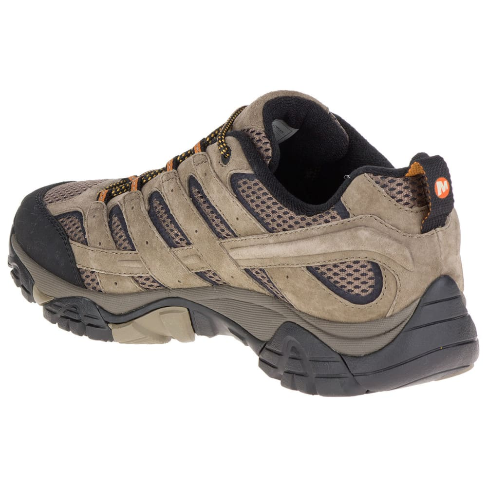 MERRELL Men's Moab 2 Ventilator Low Hiking Shoes, Walnut - WALNUT