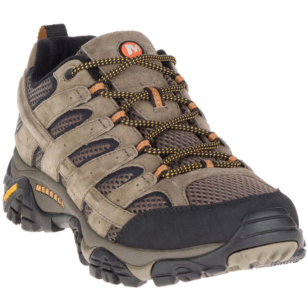 bb261adf MERRELL Men's Moab 2 Ventilator Low Hiking Shoes, Walnut, Wide