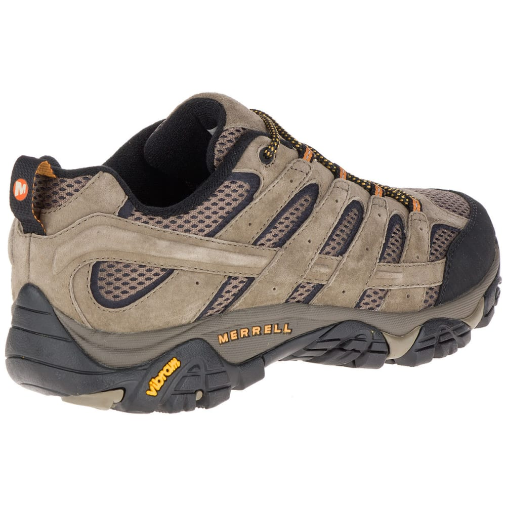 ccec60babab MERRELL Men's Moab 2 Ventilator Low Hiking Shoes, Walnut, Wide
