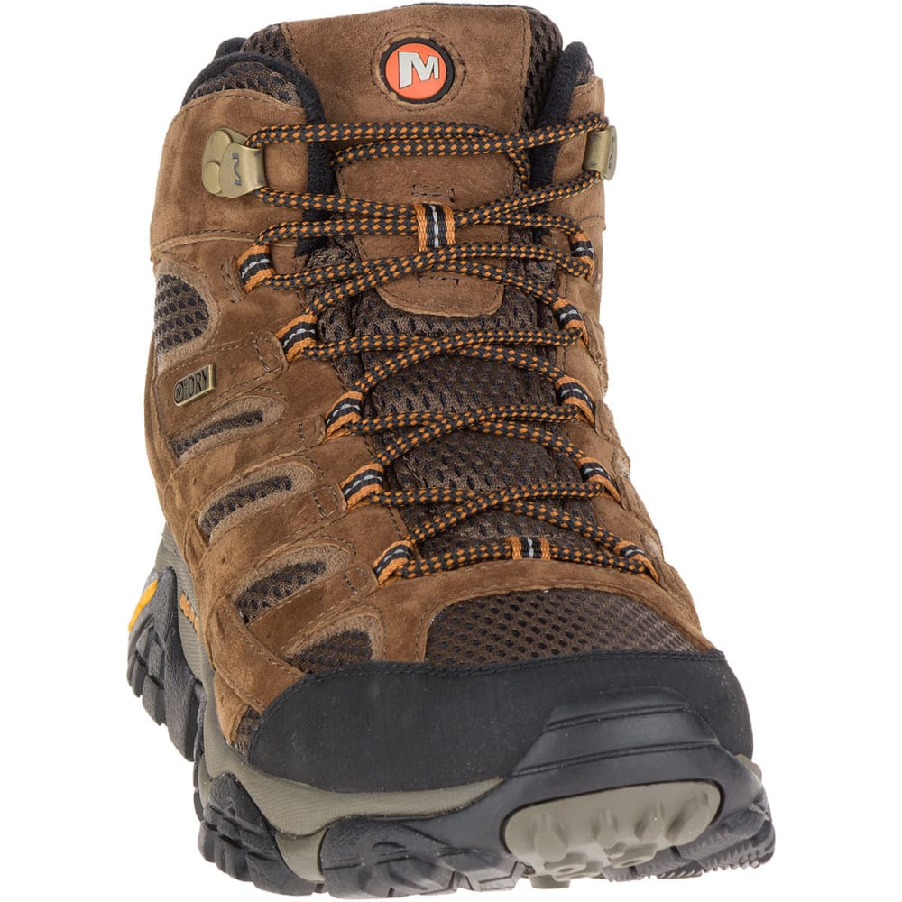 416a55c230b MERRELL Men's Moab 2 Mid Waterproof Hiking Boots, Earth