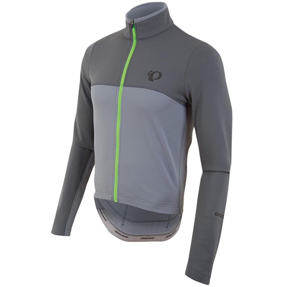 PEARL IZUMI Men's Select Escape Thermal Cycling Jersey - MONUMENT/SMOKE PEARL