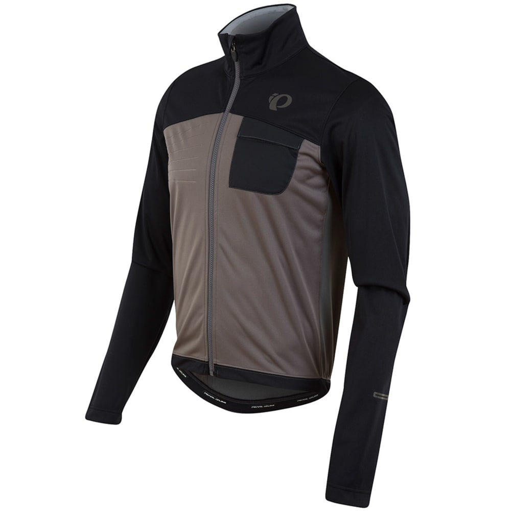 PEARL IZUMI Men's Select Escape Soft Shell Jacket - BLACK/SMOKED PEARL