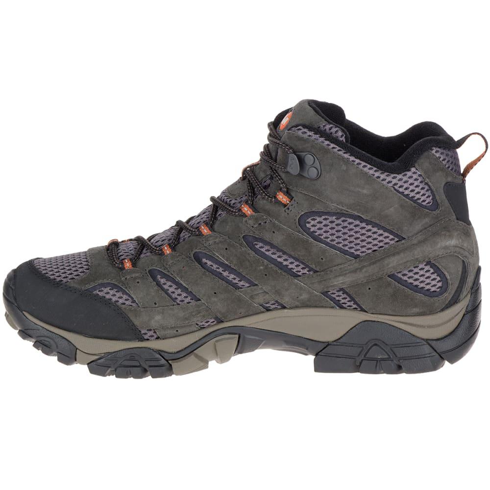 2da5e907 MERRELL Men's Moab 2 Mid Waterproof Hiking Boots, Beluga