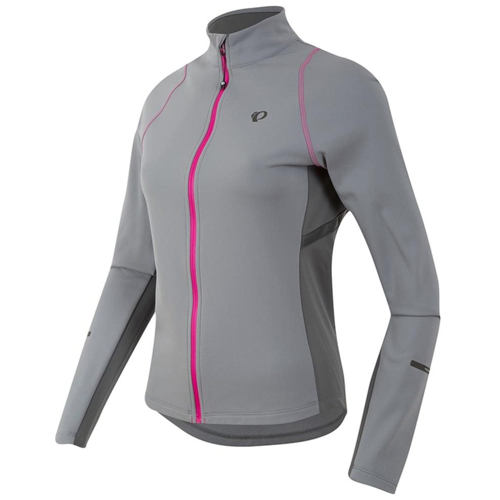 PEARL IZUMI Women's Select Escape Thermal Cycling Jersey - MONUMENT/SMOKED PRL