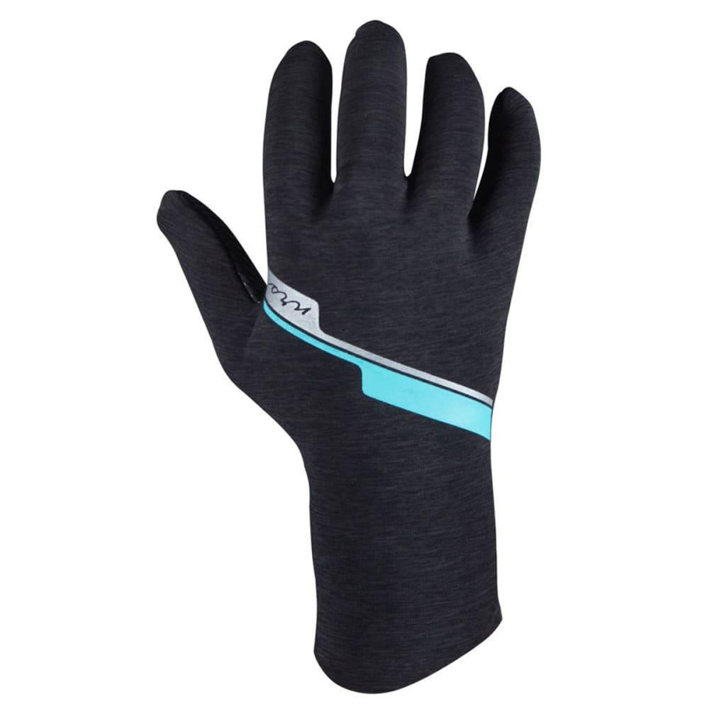 NRS Women's Hydroskin Gloves - GRAY HEATHER