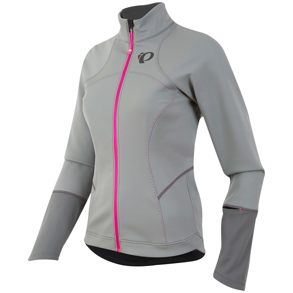 PEARL IZUMI Women's Elite Escape Soft Shell Jacket - MONUMENT/SMOKED PRL
