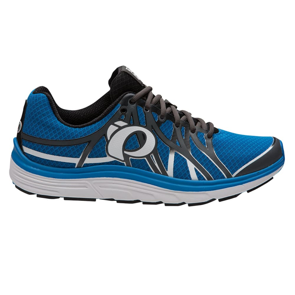 PEARL IZUMI Men's Road N3 Running Shoe, Shadow Grey/Fountain Blue - SHADOW GRY