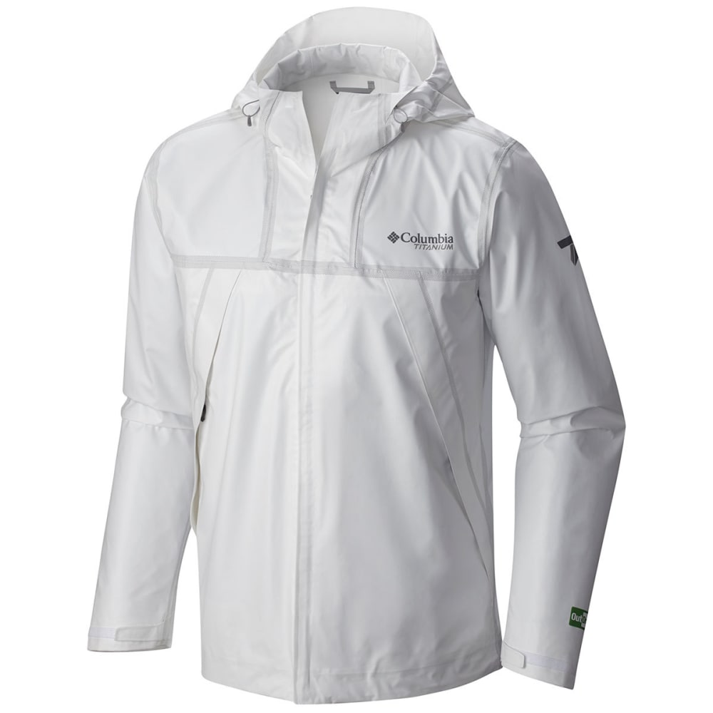 COLUMBIA Men's Outdry Ex Eco Shell Jacket - 100-WHITE UNDYED