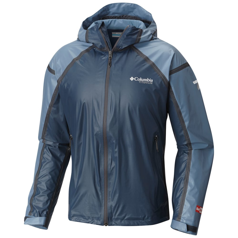 COLUMBIA Men's Outdry Ex Gold Tech Shell Jacket - 492-ZINC/STEEL