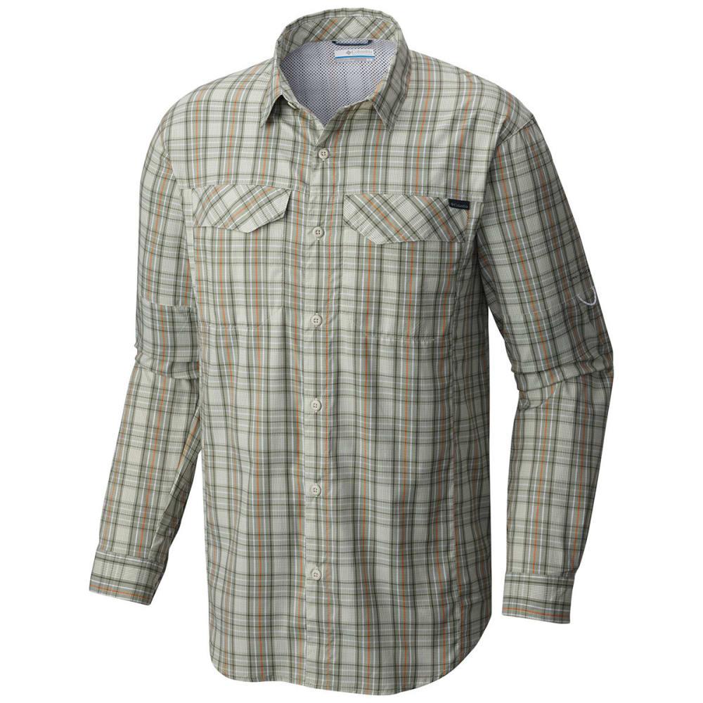 COLUMBIA Men's Silver Ridge Lite™ Plaid Long-Sleeve Shirt - 348-SAFARI PLAID