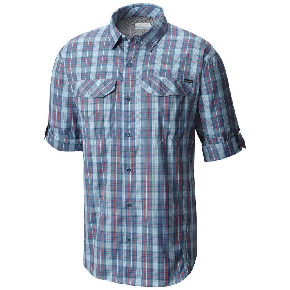 ef8ae0a4755 COLUMBIA Men's Silver Ridge Lite Plaid Long-Sleeve Shirt - Eastern ...