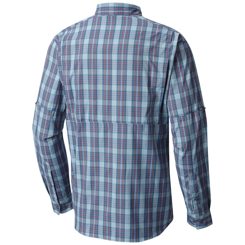 c7022c51eea COLUMBIA Men's Silver Ridge Lite Plaid Long-Sleeve Shirt - Eastern ...