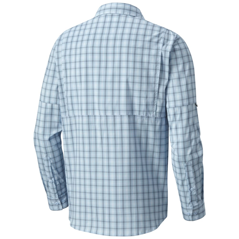 COLUMBIA Men's Silver Ridge Lite Plaid Long-Sleeve Shirt - 412-AIR PLAID